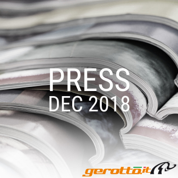 Press December 2018 Gerotto Federico S.r.l.